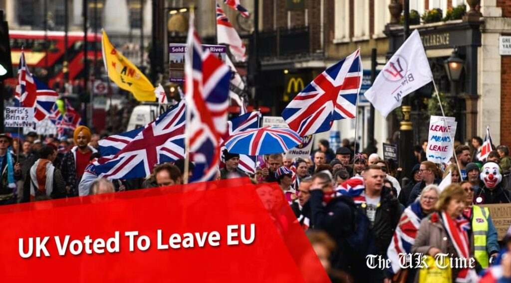 UK Voted To Leave EU