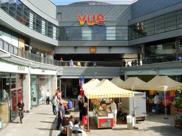 N1 Shopping Centre London